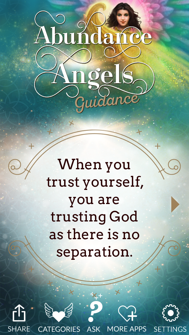Abundance Angels Guidance Screenshot