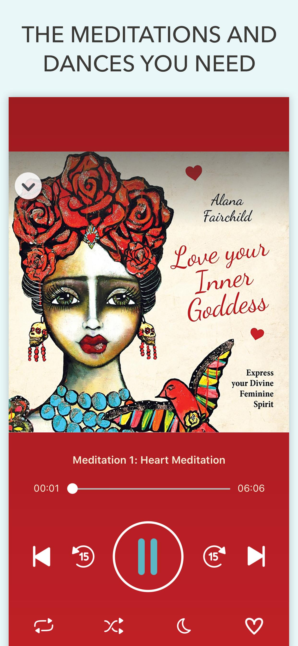 Love Your Inner Goddess App